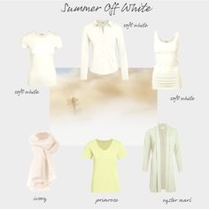 Back to basics - neutrals for Summers