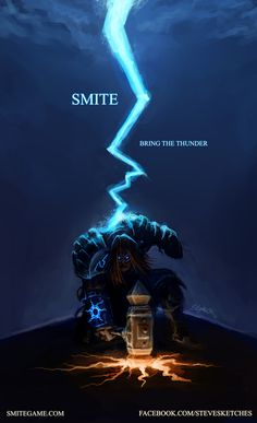 Smite - Bring The Thunder by SteveSketches.deviantart.com on @deviantART