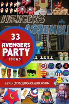 33 Avengers Party Ideas - Spaceships and Laser Beams