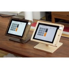 Square Register by Tinkering Monkey. Works beautifully, and my customers (and their customers) love it.