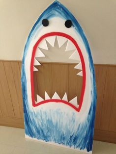 FUN photo booth prop shark for a kids luau party! FUN photo booth prop shark for a kids luau party! Luau Birthday, Pirate Birthday, Birthday Party Themes, Birthday Decorations, Pool Party Themes, Hawaiin Party Decorations, Vbs Themes, Hawaiian Birthday, Ocean Themes