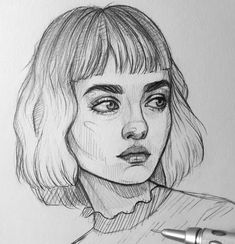 """Drawing Pencils – 37 Sketching Art Set """"All art is a kind of. Pencil Art Drawings, Art Drawings Sketches, Cute Drawings, Portrait Sketches, Arte Sketchbook, Drawing People, People Drawings, Drawing Girls, Sketches Of People"""