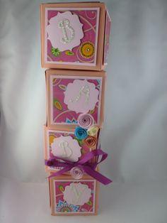 Babyturm in rosa