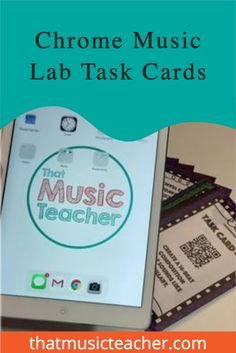 Have you been trying to incorporate more self-guided learning in your classroom? Chrome Music Lab is a wonderful free suite of web-based apps that allow your students to explore music and the science of sound.Use these task cards to guide students as they compose and explore computer-aided music with the Chrome Music Lab. These are great for online or in-person classes! #Education #Elementary #Online #music #Independent #School #Learning #TaskCards #Teachers #Activity