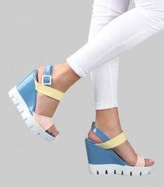 Jenatta 01 Dolgu Topuk Ayakkabı