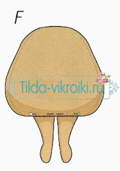 NIÑA TILDA - тильда кукла