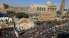 Ruim twintig doden bij aanslag op koptische kerk Caïro   NOS