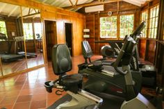 The gym is good for working off the rum-based cocktails and fabulous breads served at breakfast Ladera Resort St Lucia, Rum, Breads, Cocktails, Breakfast, Bread Rolls, Craft Cocktails, Morning Coffee, Bread
