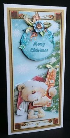 Barnaby Bear Christmas DL on Craftsuprint - View Now!