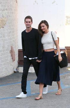 @MirandaKerr & her Boyfriend - #Snapchat founder Evan Spiegel Go For A Day Date In Malibu | August 2015 | @asifahsankhan via @celebmafia