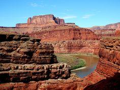 The Green River, Utah