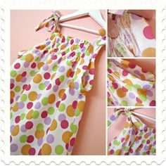 Shirred Pillowcase Dress