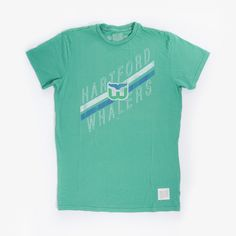 Whalers Vintage Tee by Retro Brand $34.00 at hartfordprints.com #CT #hockey #holiday #Connecticut #gifts #Whalers