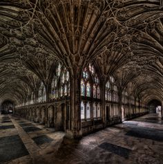 Gloucester Cathedral Cloister by Roland Shainidze on 500px