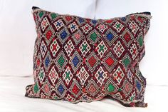 KILIM PILLOW | MOROCCAN Kilim Pillow | Vintage Kilim Cushion | 17x14 by MoroccanMaison on Etsy