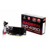 XFX ATI Radeon HD4350 512MB DDR2 VGA/DVI/HDMI Low Profile PCI-Express Video Card HD435XYNH2 by XFX. $66.98. If full-speed Blu-Ray playback and HDMI Audio 7.1 capabilities are your thing, then the XFX Radeon HD 4350 Graphics Card is your card. Offering 8GB of memory bandwidth paired with DDR2 memory, this low-profile card fits in almost any case or motherboard designed to have a PCI Express video card in it.