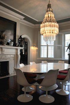 "Murano glass chandelier that's been rewired.   5' high x 24"" diameter"