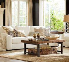 living room design by Pottery Barn | Living room | Pinterest ...