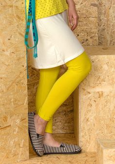 Leggings i lyocell/elastan – Stickat – GUDRUN SJÖDÉN – Kläder Online & Postorder