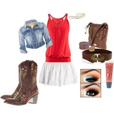 Country Flare, created by shayck on Polyvore