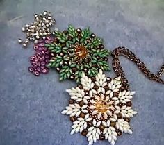 Superduo Beaded Pendant Tutorials - The Beading Gem's Journal