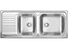 Blanco TIPO XL 9 S 1210 x 500 mm, rustfritt stål