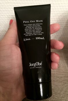 If you have an oily skin you need to read this new post about the JorgObé peel off mask on my blog.