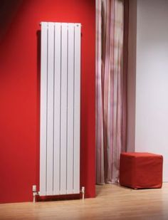 Would be perfect in the hallway or bathroom . radiators come in so many styles now Upright Radiators, Wall Radiators, Modern Radiators, Bathroom Radiators, House Extension Design, Extension Designs, Extension Ideas, Designer Radiator, New Kitchen