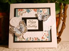 Butter Flies by CathyRose - Cards and Paper Crafts at Splitcoaststampers