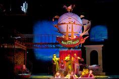 Sweeney Todd. Aarhus Teater, Denmark. Scenic design by Igor Vasiljev. 2011