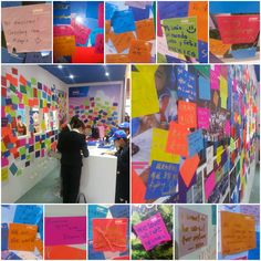 What is your purpose? Participants at the #EnactusWorldCup in Beijing shared theirs on our Purpose wall.