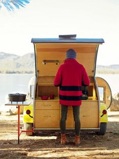 Teardrop trailer, Gold Lake, CA***Research for potential future project.