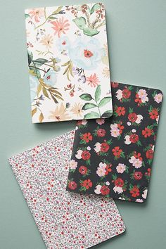 Shannon Kirsten Sealed With A Bloom Journal Set // These pretty journals would make great gifts or use for your own bullet journal // Moleskine, Notebook Cover Design, Cute Journals, Cute School Supplies, Office Supplies, Whimsical Fashion, Bff Gifts, Brighten Your Day, Writing Inspiration