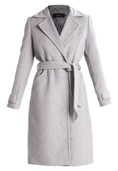 Vero Moda Wollmantel/klassischer Mantel light grey melange