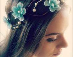 wedding dress with light blue flowers - Αναζήτηση Google