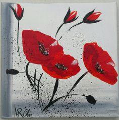 Artiste : RAFFIN CHRISTINE Peinture acrylique sur toile 20x20