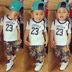 Hip hop fashions for kids