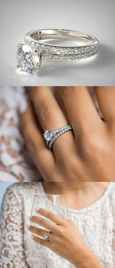 Bridal ring set Ideas / Inspiration for Men & Women which is Awesome & Unique made in White, Rose & Yellow gold comes in Channel Sets, Princess Cut, Halo, Oval, Round, Pear, Three Stone, Cushion Cut, Solitaire Shape with Gem stones like Emerald, Blue Sapphire, White Diamonds / Diamond, Swarovski, Purple, Red, Yellow Crystals. These Vintage Wedding, Anniversary, Brides, Engagement Rings & Band are Vintage, Simple & Beautiful Jewelry Products which is cheap, inexpensive, affordable Rings for..