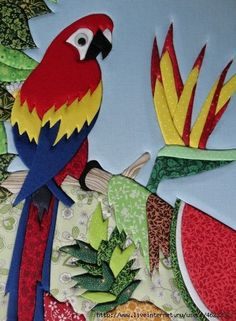 CZ7 (1) (426x580, 171Kb) Intarsia Patterns, Applique Patterns, Applique Designs, Embroidery Applique, Quilt Patterns, Felt Crafts, Diy And Crafts, Puffy Quilt, Hanging Flower Pots