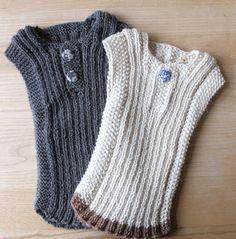 Billedresultat for babyvest Knitting For Kids, Baby Knitting Patterns, Baby Patterns, Baby Outfits, Kids Outfits, Kids Vest, Baby Barn, Knit Vest Pattern, Baby Vest