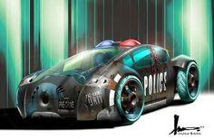 Future cop car