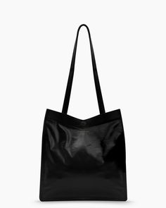 "12 ¼"" x 11"" x 7 Strap drop: 12"" Interior zipper pocket Magnetic Closure Lined  CALF – BLACK THE LEATHER WE INCORPORATE IN OUR BAGS IS SPECIALLY WASHED & T"