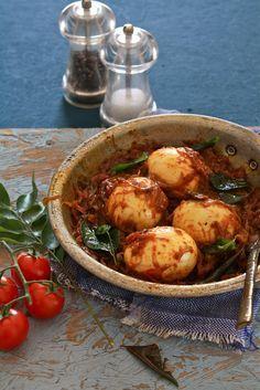Kerala Style Egg Roast — Naadan Mutta Roast