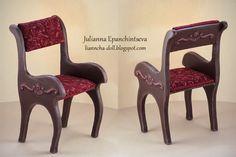 Mimin Dolls: cadeira para doll