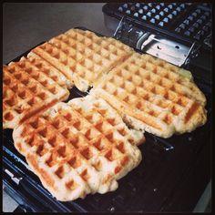 Rachael Ray Waffle Week Muffin Idea. Cinnamon Apple Banana Waffles. @Rachael Ray Show