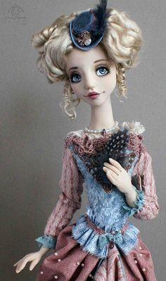 Art doll - Anna Fadeev