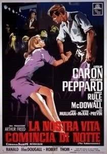 La nostra vita comincia di notte (The Subterraneans - 1960) film di  Randal MacDougall