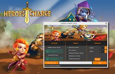 With the Heroes Charge Hack trainer you can add more coins and Gems to your Heroes Charge Account.