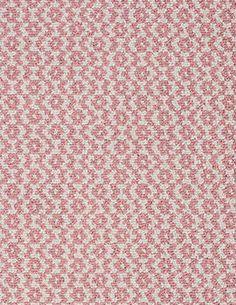#HookandLoom+Toulouse+Pink/White+Eco+Cotton+Loom-Hooked+Rug
