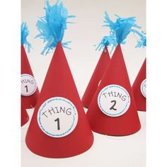 Dr Seuss Hats Cake Ideas and Designs